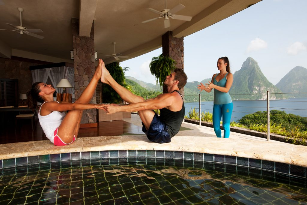 Ask about our Private Couples Yoga Treatment
