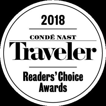 Conde Nast Traveler 2018