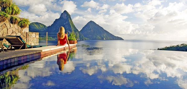 Jade Mountain - American Express Fine Hotels & Reosrts