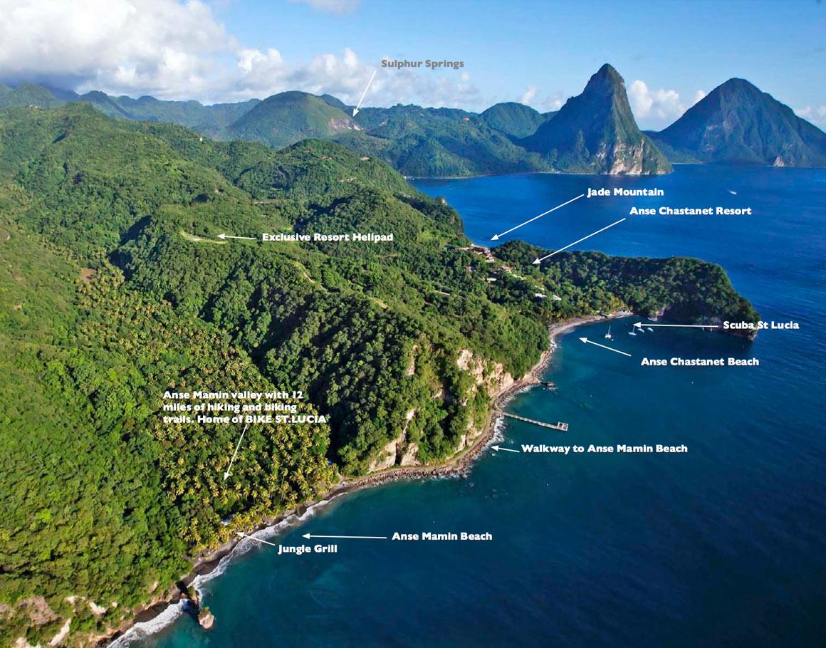 Property Map Jade Mountain