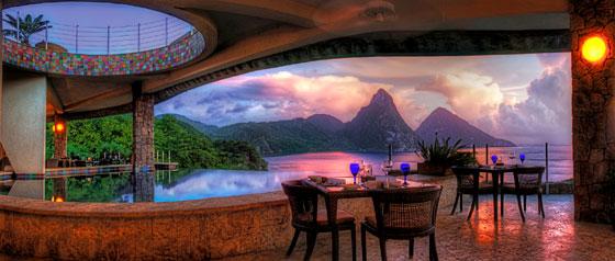 Jade Mountain Club Panorama