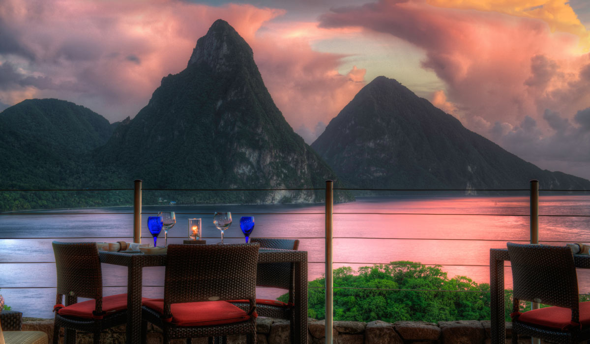 Jade Mountain Club view