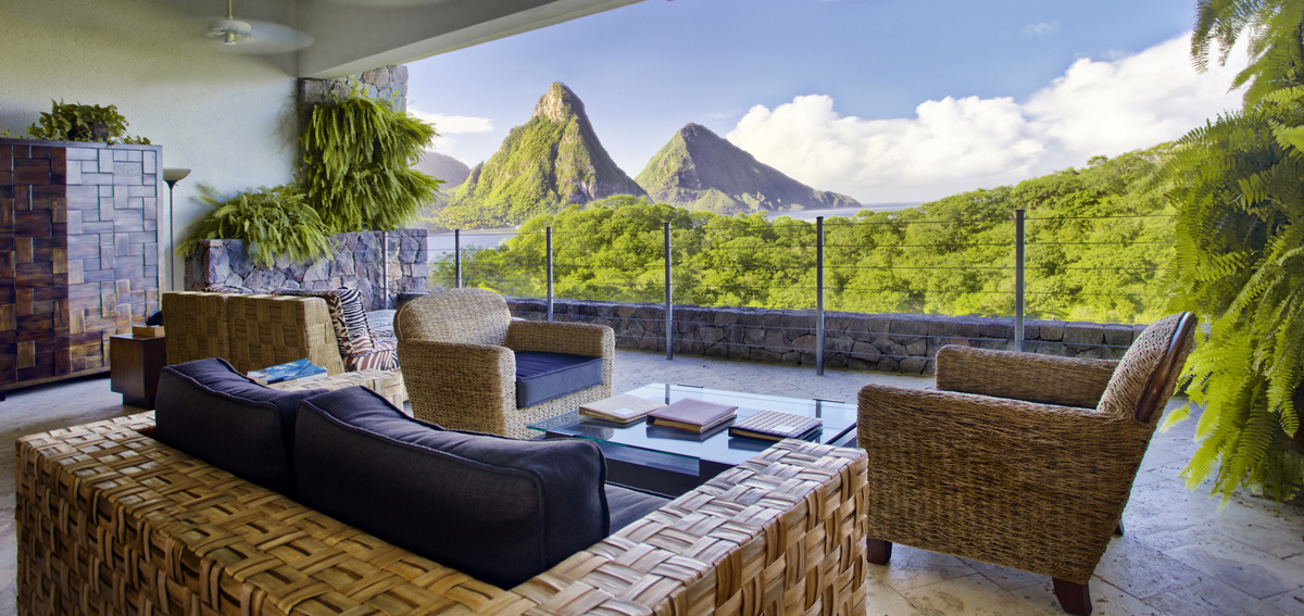 Jade Mountain - SKY JACUZZI SUITE