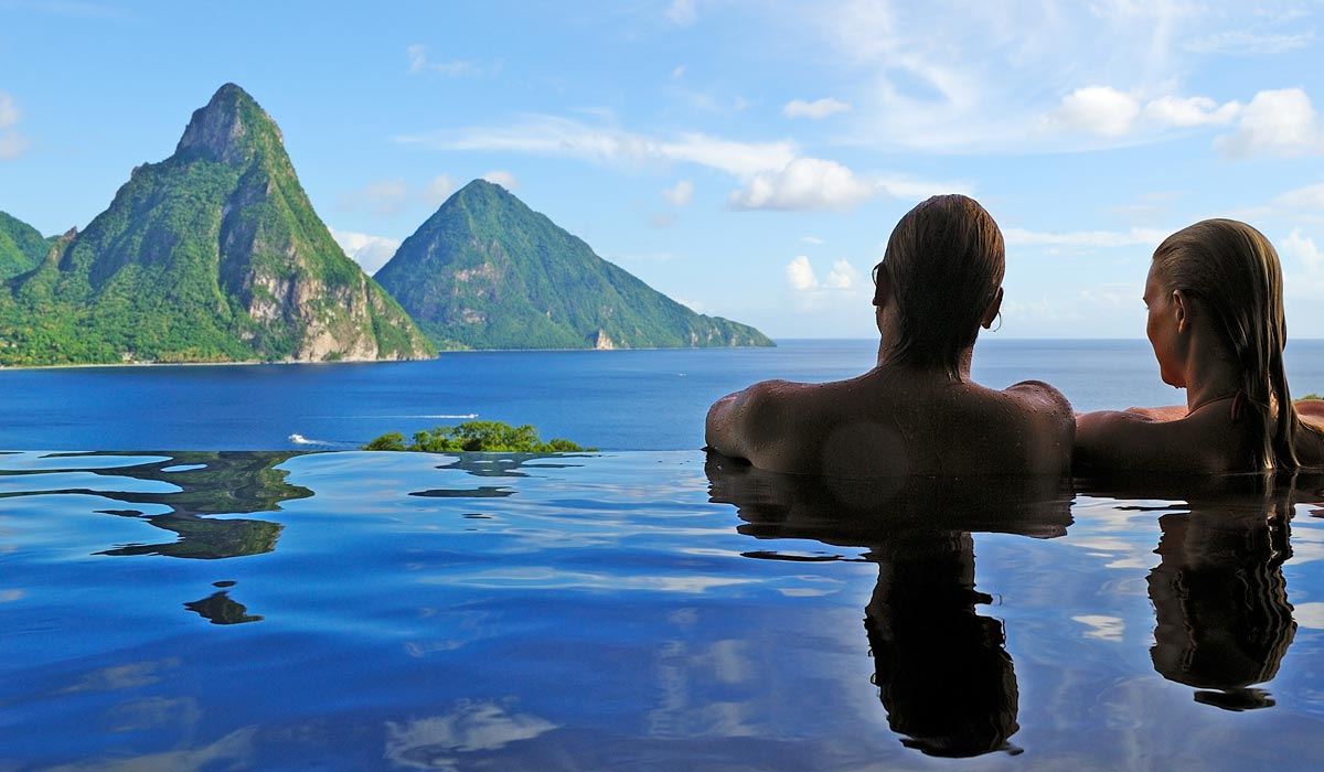Jade Mountain St Lucia - Sanctuaries