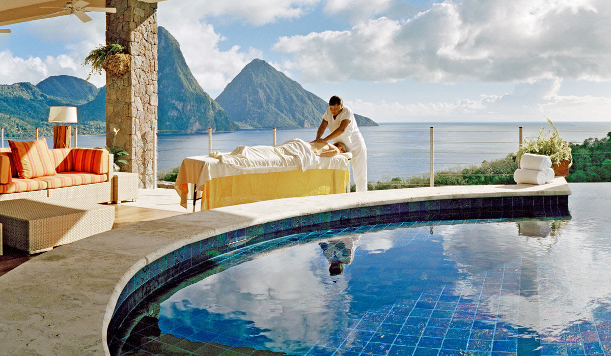 In-Sanctuary Spa Treatments at Jade Mountain St Lucia
