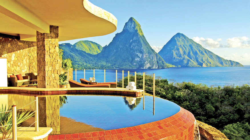 Jade Mountain Infinity Pool Sanctuary