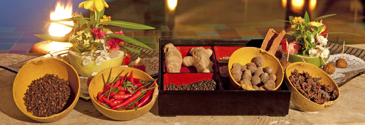 Spices at Jade Mountain