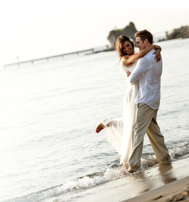 Wedding Couple on Anse Chastanet Beach
