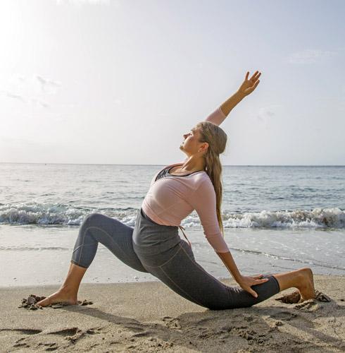 Yoga Laura Timmusk at Jade Mountain