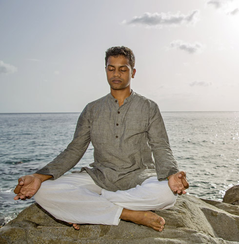 Yoga Nelson Chako at Jade Mountain